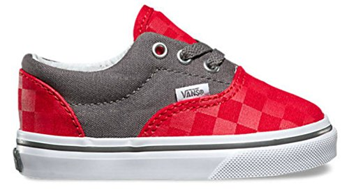 Vans Era - Mocasines Bebé-Niños Multicolor (checkerboard/racing Red/pewter)
