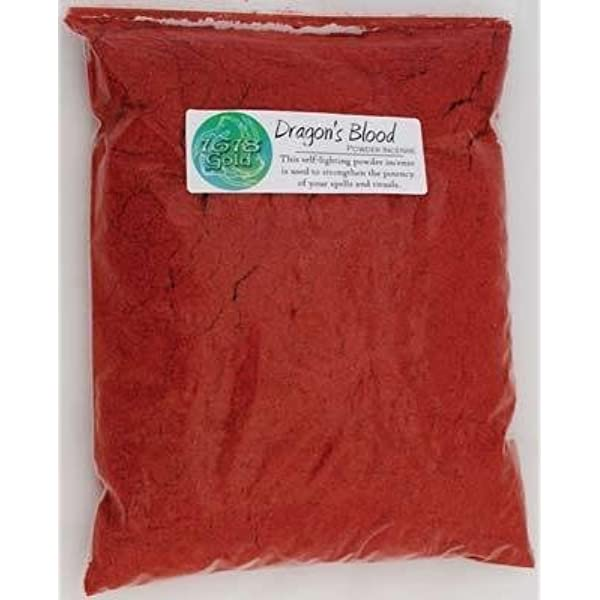 BEST VALUE ON ! 1 oz Dragon's Blood Resin Incense Free Shipping from CA