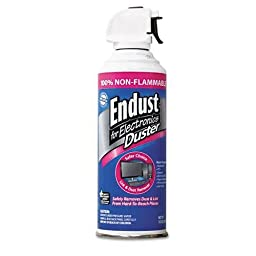 ENDUST 255050 Compressed Gas Duster, 10oz Can