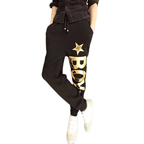 JINMIG Mens Fashion Hip-hop Dancing Trousers Youth Harem Casual Pants