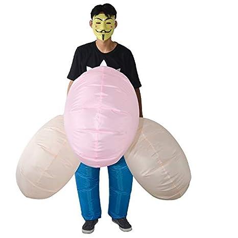 thematys Disfraces inflables de pene Gigante - Divertido ...