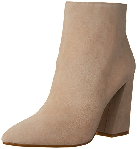 Kenneth Cole New York Womens Gladis Ankle Bootie Taupe Suede