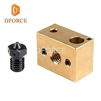 Amazon.com: Impresora 3D - Boquillas de acero endurecido A2 ...