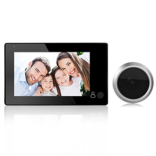 Peephole Viewer,Door Viewer,Awakingdemi 4.3inch LCD Digit...