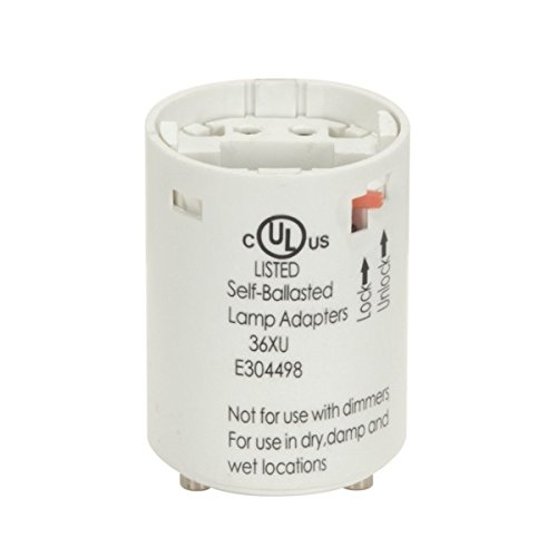 Satco 26W G24q-3 GX24q-3 Electronic CFL Lampholder - 802077