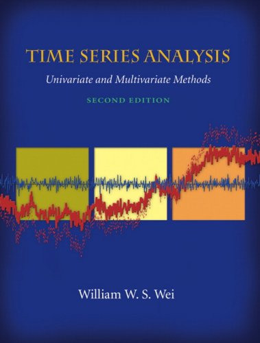 Time Series Analysis : Univariate and Multivariate Methods (2nd Edition)