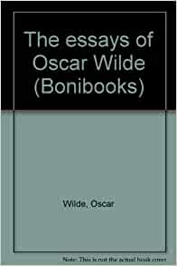 oscar wilde background on book essay Oscar wilde biography during his time in prison wilde wrote excessively producing some of his greatest essays and buy books by oscar wilde write.