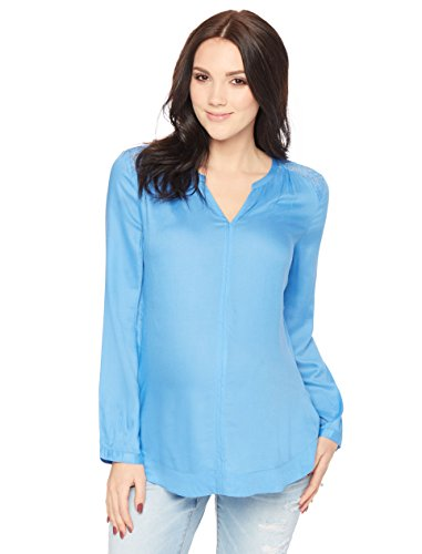 Tie Front Maternity Shirt - 7