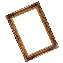 Dovewill Wedding Party Antique Paper Photo Booth Prop Background Frame Large Picture Frame 48x34cm