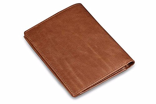 leather short youth open wallet NHGY Men's card wallet wallet 5tw11Zq