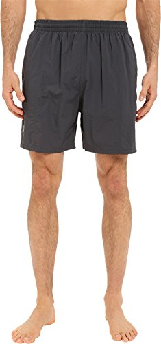 TYR Men's Classic Deck Swim Shorts, Titanium, Large (Apparel Tyr Deck)