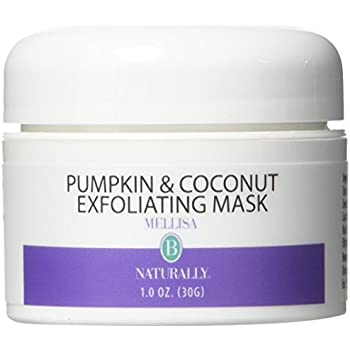 Pumpkin & Coconut Exfoliating Facial Mask - 1 oz. by Mellisa B Naturally (pack of 4) Yosoo 3 Colors LED Skin Rejuvenation Light Professional Therapy Acne Wrinkle Removal Face Body Care, Skin Rejuvenation Light, Wrinkle Removal Light