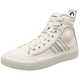 Diesel Women's S-astico Mid Lace Hi-Top Trainers