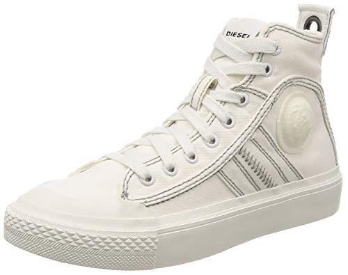 - Diesel Women's S-ASTICO LACE W-Sneaker mid, Pure White, 7 M US