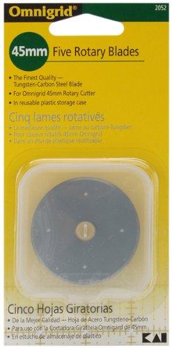 Omnigrid Rotary Blade Refill-45mm 5/Pkg 1 pcs sku# 643872MA by Dritz