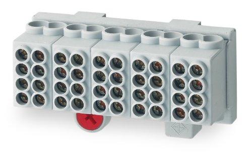 Unitec 40313 Hauptleitungsabzweig-Klemme 25 mm² , 5-polig, fingers 162340