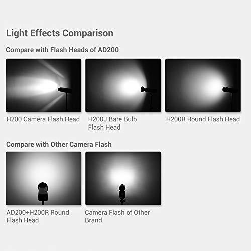 Godox Witstro H200R Round Flash Head for AD200 200Ws 2.4G TTL Flash Ring Flash Head with Storge Box by Godox (Image #7)