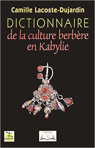 Dictionnaire De La Culture Berbere En Kabylie Pdf Telecharger Corfaaghositvobunk