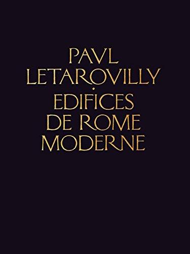 Edifices de Rome Moderne (Reprint Series) by Brand: Princeton Architectural Press
