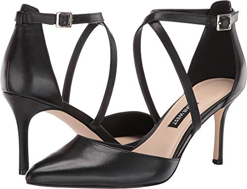 (Nine West Women's Mig Pointed Toe Pump Black 7 M US)