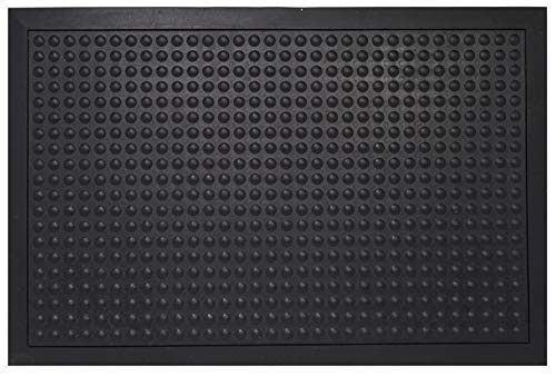 (Envelor Home and Garden Bubble Scraper Rubber Floor Mat Heavy Duty Kitchen Floor Mat Durable Comfort Anti Fatigue Mat for Standing Desk Indoor Outdoor Industrial Floor Mat 24 x 36 Inches )