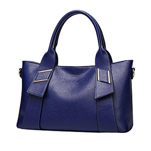 bandoulière vogue clair Loisir YAAGLE Femme main Voyage Bleu Sac brun Sac en à d'épaule n7BqvX7