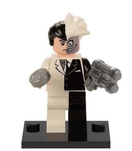Two Face Costume Dark Knight (Shalleen 10 PCS Set Two Face Lot Figures Lot Dark Knight Batman Lot Bricks Block Hot Toys)