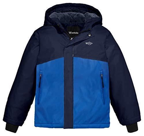 432f5f4973a6 Wantdo Boy s Spring Camping Rain Jacket Hooded Rainwear Reflective ...