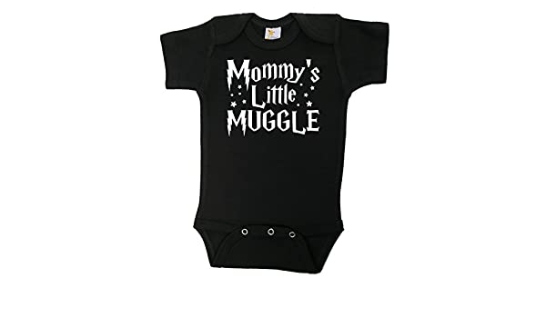 Mommy/'s Little Muggle Harry Potter  Funny Baby Onesie  100/% Organic Cotton