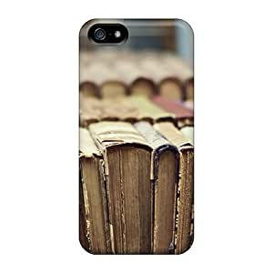 CalmCases Nah1650EwJm Case Cover Skin For Iphone 5/5s (library Books)