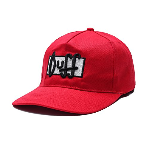 Load Failure Men's LoadF451 Duff Beer Hat, Red, One (Duff Beer Hat)