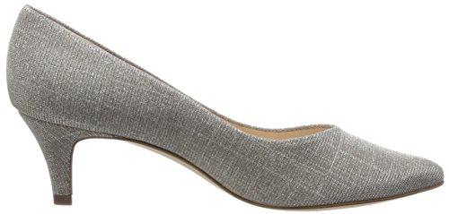 de Sand Kaiser Peter Beige Mujer Tacón Zapatos Shimmer 049 55791 qna0fw0Pgt