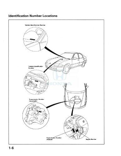 Amazon Com Bishko Automotive Literature 1992 Honda Civic Shop