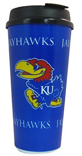 Kansas Jayhawks Travel Mug - 3