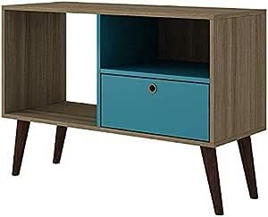حامل تلفاز A to Z Furniture-Bromma باللون البني