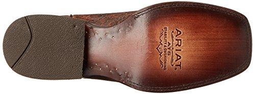 Men's Ranchero Clay Cowboy Ariat Adobe Western Boot Black fPqzdn
