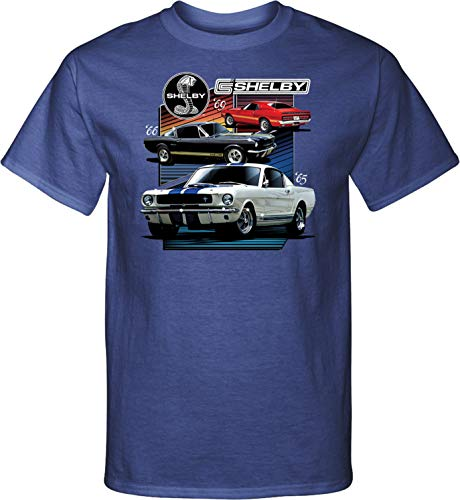 Ford Mustang Various Shelby Tall Shirt, Royal 2XLT