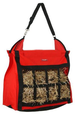 Tough-1 Hay Bag with Dividers Red
