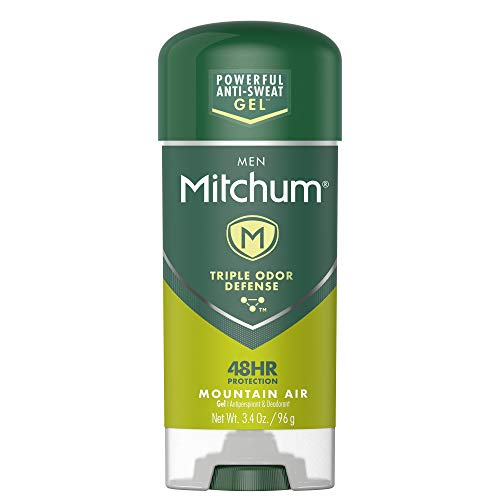 Mitchum Men Gel Antiperspirant Deodorant, Mountain Air, 3.4oz.
