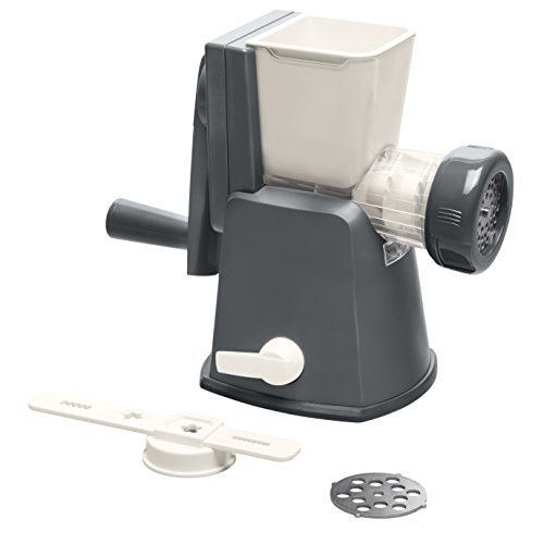 Lurch Germany Base&Soul Meat Mincer Iron (Grey/White)