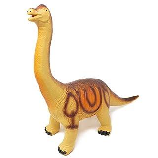 "Boley Jumbo Monster 20"" Soft Jurassic Brachiosaurus Toy - Big Educational Dinosaur Action Figure, Designed for Rough Play - Great Sandbox Toy, Beach Toy, Dinosaur Party Toy, and Toddler Dinosaur Gift"