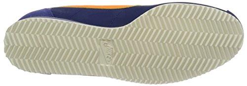 Nike Classic Cortez Nylon, Zapatillas de Deporte para Hombre Azul (Azul (Lyl Bl/Brght Mndrn-Dk Prpl Dst))