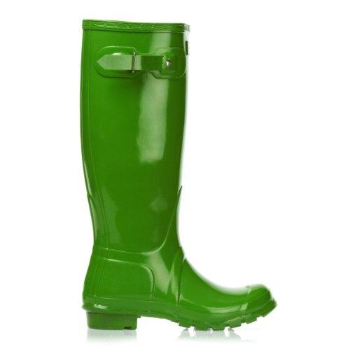 Hunter Original Gloss, Women's Rain Boots Grün (Grün)