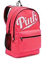 Victoria s Secret PINK Campus Backpack Neon Red