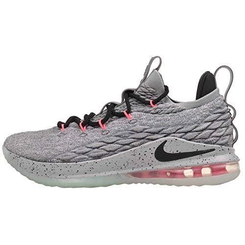 d7bb874ab2d Nike Lebron 15 Low - Men s Lebron James Nylon Basketball Shoes 9 D(M) US  Grey