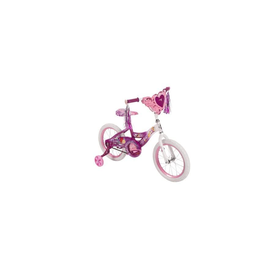 "Huffy 16"" Girls' Disney Princess Bike 51996, Heart"