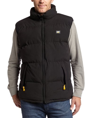 Caterpillar Men's Arctic Zone Vest, Black, Medium (Best Cold Weather Vest)