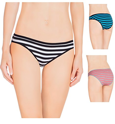 Nabtos Cotton Stripes Underwear Panties