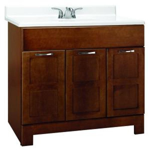 American Classics by RSI CACO36Y Casual 36-Inch W Vanity Cabinet Only, Cognac