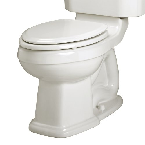 - American Standard 3177.016.020 Townsend Champion-4 Right Height Elongated Seatless Toilet Bowl with Bolt Caps, White